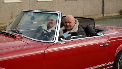 Denne Mercedesen fra 1969 har gitt ekteparet Reianes stor glede.