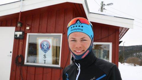 VM-MEDALJE: I fjor deltok Dag Sander Bjørndalen i junior-VM i Slovakia og fekk med seg eit sølv på stafetten. Det gav stor motivasjon til vidare satsing.