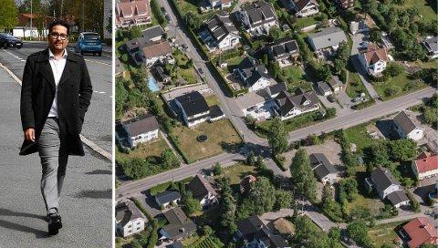 VAR IKKE DRØMMEN LIKEVELL: Daniel Kjørberg Siraj fra Moi eide for 13 år siden et hus på 170 kvadratmeter på Nordstrand i Oslo. I dag bor han på halvparten av arealet.