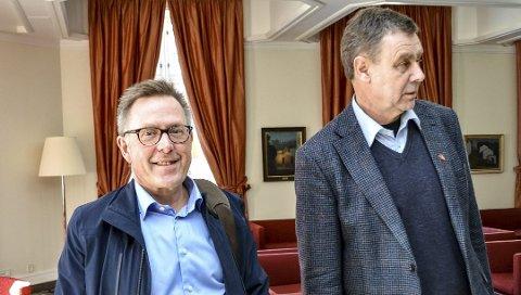 KUPP? Rådmann Truls Hvitstein (t.v.) mener at kommunestyret med ordfører Bent Inge Bye i spissen skal gjennomføre en intern høring.