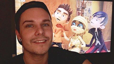 Hadde riktig stemme: Robin Elias Bekkevold sendte inn en stemmeprøve til NRK for flere år siden. Nå har han fått hovedrollen i den nye serien for barn, «Skrikvik». Han spiller «Kurt» - gutten  i oransje genser på bildet.