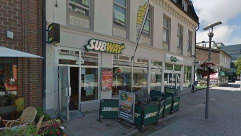 Stengte: Subway hadde holdt til i Nygaardsgaten i mer enn ti år, før de stengte i desember.