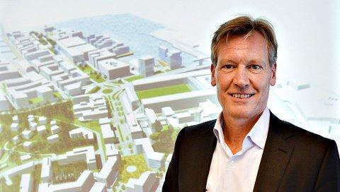GIR SEG: Trond Delbekk går av om leder i næringsforeningen etter seks år.