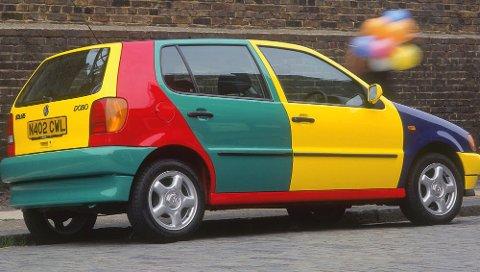 Hvordan man skal analysere eieren av en slik bil er ikke godt å si...