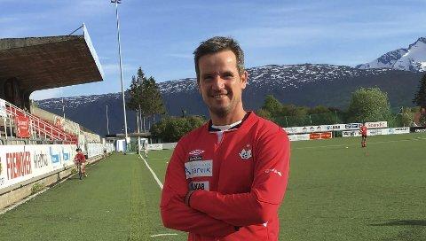 GLEDER SEG TIL KAMP: Tidligere glimtlegende Andreas Evjen gleder seg til storkampenen i kveld der Bodø/Glimt møter AC Milan.