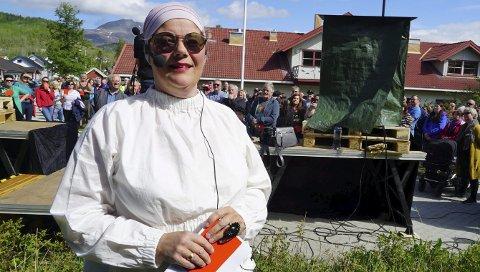 Siste ord ikke sagt: Får Ann-Chatrin Braseth og innbyggerinitiativet for å dele Tysfjord etter alternativ B det slik de vil, blir det folkeavstemning om hvor grensen mellom Nye Narvik og Nye Hamarøy bør gå. Foto: Fritz Hansen