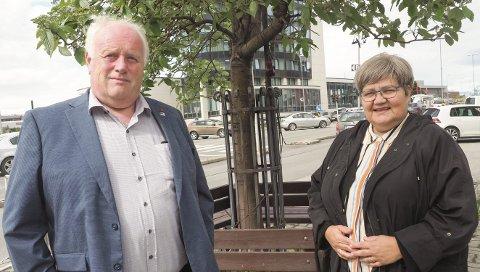 Kan bli bedre: Det er åpenbart at vi har et forbedringspotensial i Narvik kommune, sier Høyre-politikerne Paul Rosenmeyer og Ann-Tove Dalhaug om sakene der berørte beskriver mangelfull informasjon og medvirkning. Foto: Terje Næsje