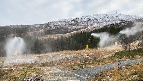 Snøkanon, familebakken, Narvikfjellet