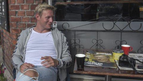 NY KAPTEIN: Marius Kleiven tror Falk kan bite fra seg i eliteserien sesongen 2018/19.