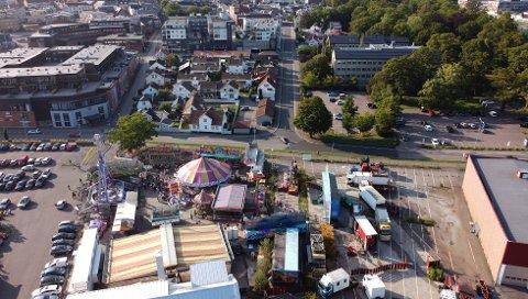 TIVOLI I HORTEN: Axels tivoli var i Horten fra torsdag til søndag. Mandag pakket de sammen. Ikke alle besøkende hadde en god opplevelse.