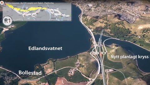 I påvente av at kommunedelplanen skal komme ut på høring, jobber Nye Veier AS med å optimalisere det foreslåtte veistrekket for ny E39 mellom Bollestad og Bue. I tillegg jobber de med ny E39 gjennom Lund. Bjerkreim og Eigersund har derimot havnet lenger bak i prioriteringskøen.