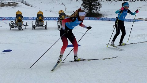 Herborg Idland er for tiden i den sveitsiske byen Lausanne, hvor hun deltar i ungdoms-OL (YOG).
