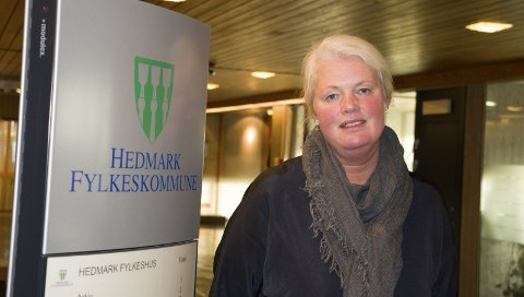 SPARER SKARNES: Fylkesråd Aasa Gjestvang (Sp).