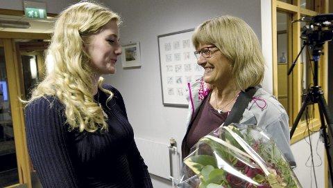 YNGST OG ELDST: – Emilie Enger Mehl har allerede imponert meg stort, sier Stortingets eldste kvinne, Karin Andersen, og ser fram til å samarbeide med den yngste.