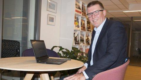 STORKOMMUNE: Sven O. Nylænder (55) er mest kjent som KOBBL-sjef gjennom åtte år. Nå har han tatt fatt på oppgaven som en av seks direktører i nye Lillestrøm kommune, som blir landets niende største når den ser dagens lys i 2020. FOTO: PER HÅKON PETTERSEN
