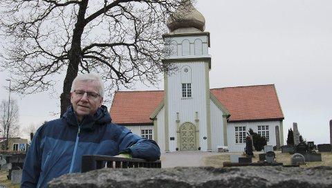 ET SAMLINGSSTED: Prost Øystein Halling i Kongsvinger ønsker at kirken skal være et samlingssted oftere enn til de offisielle kirkelige handlingene. Denne helga er det allehelgensdag, og alle fire kirker i Kongsvinger er åpne for alle som ønsker å markere minnet etter sine døde.
