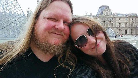 REBUSLØP: Stian og Charlotte Fossum var bare på en kjøretur da ideen om et rebusløp dukket opp.
