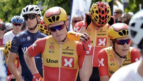 Anders Skaarseth spurtet inn til andreplass på den fjerde etappen i Tour of Norway.