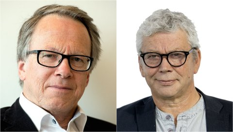PÅ TOPP: Hallvard Grotli (politisk redaktør) og Kristian Skullerud (ansvarlig redaktør) i GD er på toppen av inntektslisten når vi setter opp en rekke mediepersonligheter fra hele Gudbrandsdalen etter at skattelistene kom onsdag.