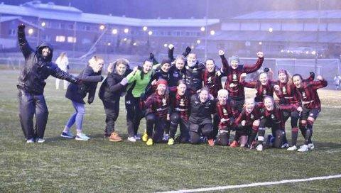 Vill TTIF-jubel etter seier 5-1 og opprykk til 3. divisjon.