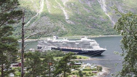 Eidfjord: Hevda seg i toppen blant alle cruisedestinasjonane i verda.arkivfoto: Synnøve nyheim