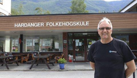 Rektor ved Hardanger Folkehøgskule, Trond Instebø. Arkivfoto: Eirin Tjoflot