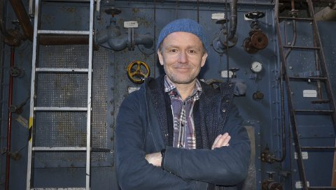 Satsar på meir normalitet: Knut Markhus, direktør på Kraftmuseet,  har mange prosjekt og planar på gang.Arkivfoto: Mette Bleken