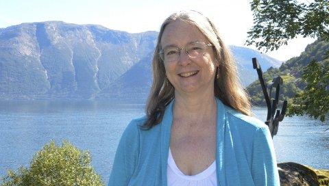 Inviterer til lesertur: Kathleen Ernst vil  at hennes amerikasnke lesere skla får oppleve Utne og Hardanger. De kommer neste år. Arkivfoto: Mette Bleken