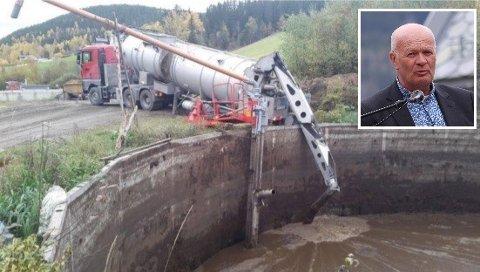 Arne Lofthus i Hordaland bonde- og småbrukarlag er svært kritisk til kva vinstar det planlagde biogassanlegget i Jondal vil gje.