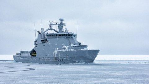INN I SØKET: KV «Barentshavet».
