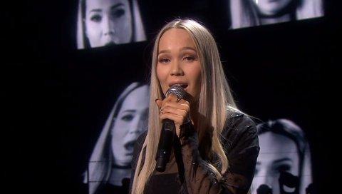 """TILBAKE PÅ SKJERMEN: Agnete Johnsen, nå Agnete Johnsen Saba, representerte Norge med sangen """"Icebreaker"""" i Eurovision Song Contest i Stockholm i 2016."""