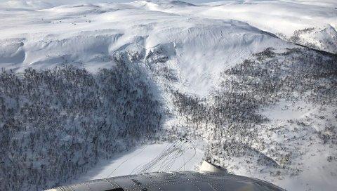 SNØSKRED: Varsom.no melder om betydlig fare for snøskred. Bildet er fra en annen anledning.