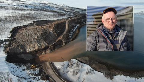REDD FOR KOMISENE: Jan Kåre Jakola (57) er en av hytteeierne som ble evakuert etter raset i Smalfjord. Da han forsto hva som hadde skjedd, ble han bekymret for kompisene.
