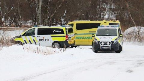 Væpnet politi måtte mandag rykke ut til en privatadresse etter  at det kom meldinger om skudd i området.