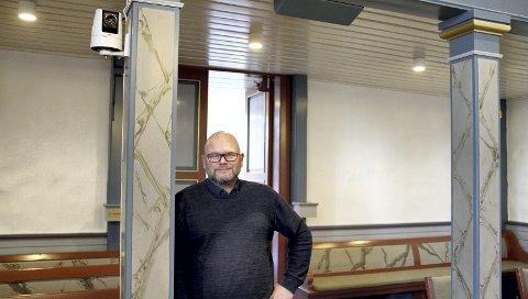LOVER SNARLIG BESLUTNING: Kirkeverge Øivind Eismann antar at prestene vil bestemme seg i løpet av et par ukers tid.