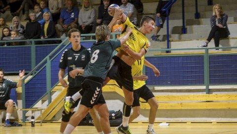 Uavgjort: – En fantastisk håndballkamp mot et tysk stjernelag. En kamp vi burde ha vunnet, mener Kristoffer Haugland Pedersen.ARKIVFOTO: NILS JUL LANDE