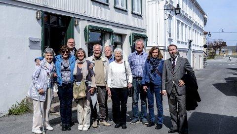 Slektstreff i P.A. Heuchsgate: Etterkommerne av Cæsar Læsar Boeck, handelsmannen som bodde i huset bak, Bredsdorff-gården