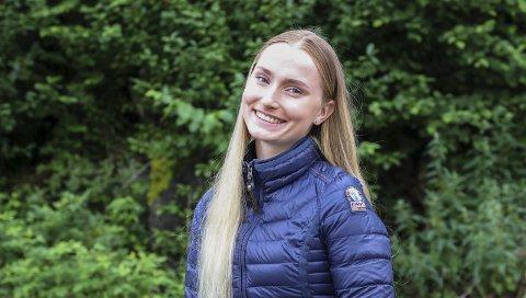 Finalist: Mia Eline frå Odda er ein av 15 finalistar i modellkonkurransen Scandinavian Supermodel Competition. Vinnaren vert kåra i september, og det er den kjende modellagenten Donna Ioanna som arrangerer konkurransen.foto: Inga Øygard Jaastad