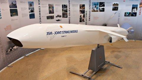 NY KONTRAKT: JSM er et våpen som er tilpasset det nye kampflyet Lockheed Martin F-35, som er utviklet av Kongsberg Gruppen.