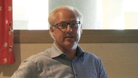 SPENT: Gunnar Rinde i Stor-Oslo Eiendom forteller at de fortsetter som før, tross avslag på dispensasjonssøknaden.