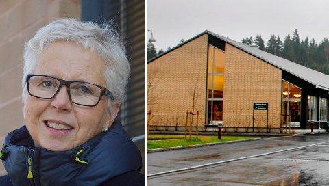 DRIFTSLEDER: Nina Stølen er konstituert driftsleder for Flesbergtunet bo- og servicesenter.