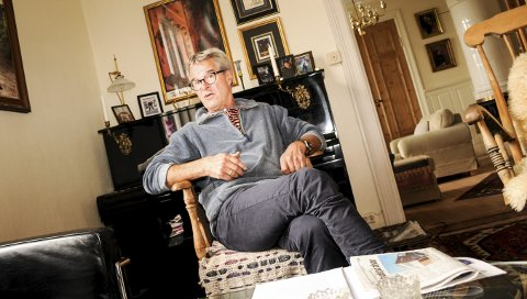 Tilgir ikke: Kjell Aksel Sørlien sliter fortsatt med søvnproblemer - tre år etter at han nærmest sluttet på dagen, etter 40 år som ansatt i Lier-skolen. – Jeg følte meg presset til å slutte, sier han.FOTO: PÅL A. NÆSS