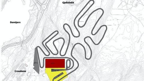 FORSLAGET: Slik ser prosjektgruppen for seg at et helårs skianlegg i Leirdalen kan se ut. Tirsdag skal kommunestyret til stilling til om de ønsker å inngå en intensjonsavtale med Røyken og Asker om å jobbe videre med planene.