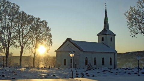 Gudstjenester i jula: Blant annet Tranby kirke kommer til å holde gudstjenester i jula etter at kommunens juleregler åpner opp for det.