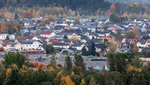 STØY: Beboerne i nærheten av OBOS-prosjektet Kvarteret ved Norges Varemesse har støyfulle måneder foran seg.