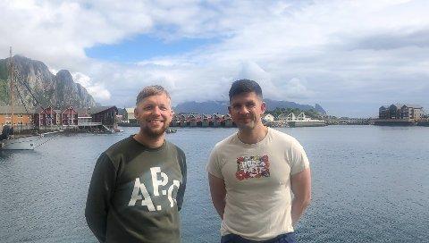 Arrangerer båtkonsert: Lyse Netter, Høllafest og Brim Explorer arrangerer båtkonsert ved Haversand 21.juli. Fra venstre: Øystein Falch Alsoso i Lyse Netter og PEtter Erlbeck i Høllafest.