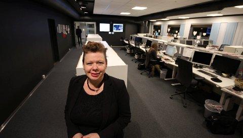 MÅ LØFTES: Siv Jacobsen, fylkesvaraordfører og gruppeleder for Ap i fylkestinget, varsler en fornyet satsing for næringslivet i Østfold. Hennes første kamp er å få bevart Moss lufthavn Rygge, en flyplass som også Østfold fylkeskommune er medeier i.