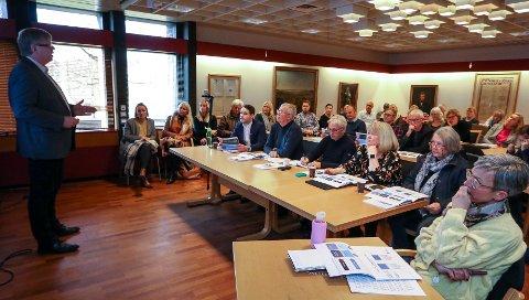 TALL: Rådmann Hans Reidar Ness la fram sitt budsjettforslag for nye Moss 2020 for nye Moss formannskap torsdag.