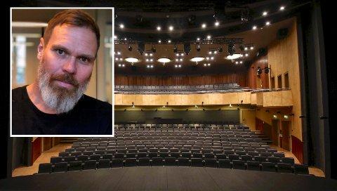 NY KULTURHUSLEDER: Gard Mortensen (49) skal i september tre inn i jobben som leder av kulturhuset i Moss.