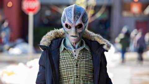 Slik ser hovedpersonen ut, men kun for én liten gutt i den lille byen i Colorado.
